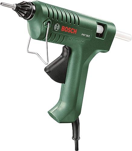 Bosch Glue Gun PKP 18 E (200 Watt, Glue Stick Included, in Box)