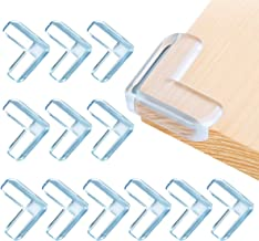 20pcs-Large with 20pcs Advanced Custom Made Adhesive Tape InnoBeta Clear Corner Protectors for Kids Desk /& Table Edge Safety Bumpers Guards Baby Proofing Corners