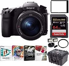 Sony DSC-RX10 III Cyber-Shot Digital Camera with 64GB Card and Accessory Bundle