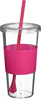 Copco 2510-9281 Sierra Tritan Cold Tumbler with Removable Straw, 24-Ounce, Hot Pink