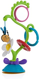 Nuby Buzzy Blossoms with Suction Base High Chair Interactive Toy for Early Development