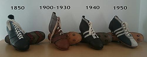 COLECCIóN DE Stiefel RETRO DE FúTBOL HECHAS DE PIEL 1850 A 1950