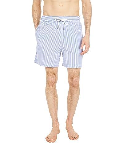 Polo Ralph Lauren 5.5 Traveler Seersucker Swim Trunks Men