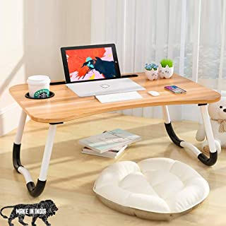 NSXEEN Multi-Purpose Study Laptop Table Portable Bed Desk Smart Lapdesk for Children Foldable Cousin Lags Work Office Home...