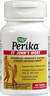 Perika (St. John's Wort) Nature's Way 60 Tabs (Packaging May vary)