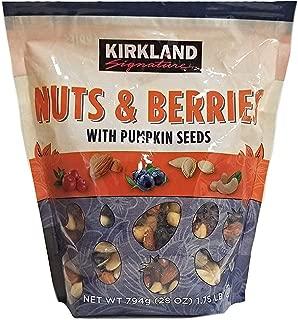 Kirkland Signature Nuts & Berries with Pumpkin Seeds Mix - 1.75 lbs (28 oz.)