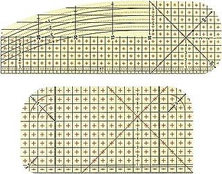 Blanc Hellery 4X Tissu Toile Thermocollant Entoilage Coton Accessoire Couture au Metre 2.2m 1.1m