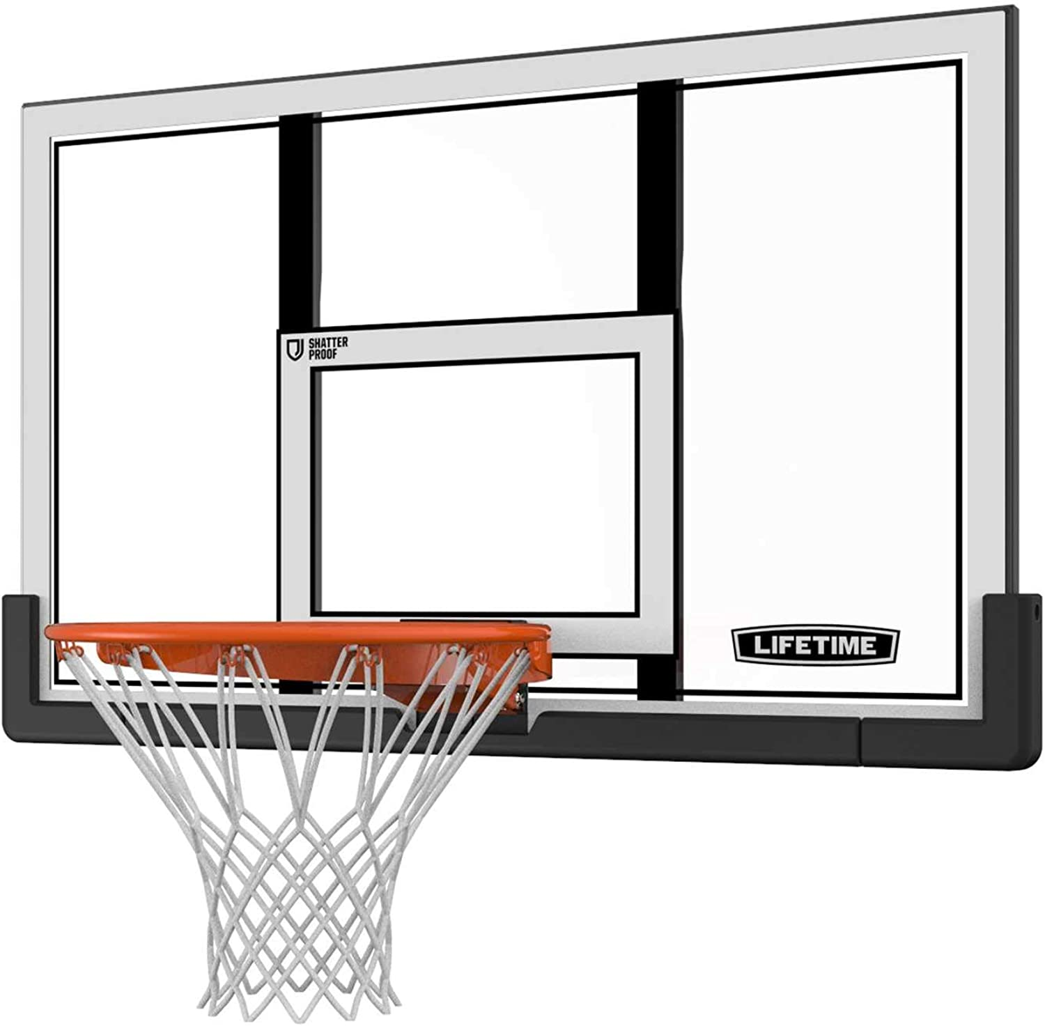 Lifetime 73729 Backboard and Rim Combo Kit