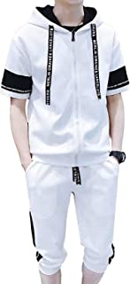 [ SmaidsxSmile(スマイズ スマイル) ] ジャージ スウェット セットアップ 半袖 ハーフパンツ パーカー フード メンズ