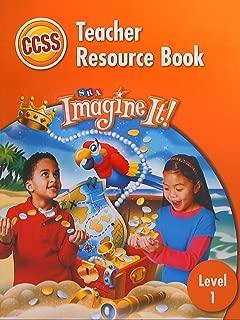 SRA Imagine It! Teacher Resource Book, Level 1 CCSS Common Core