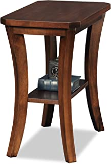 Leick Furniture Boa Collection Chairside End Table, Cherry
