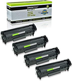 GREENCYCLE high Yield Compatible Canon 104 CRG104 Black Toner Cartridge for FX9 FX10 & HP Q2612A 12A- D420 D480 MF4150 MF4270 MF4350 MF4370 MF4690 L90. HP 1018 1020 M1120 3015 3020 3030 3050 3055