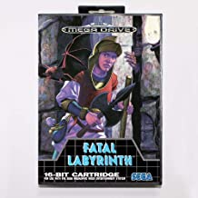 TopFor Fatal Labyrinth Game Cartridge 16 Bit Md Game Card With Retail Box For Sega Mega Drive For Genesis