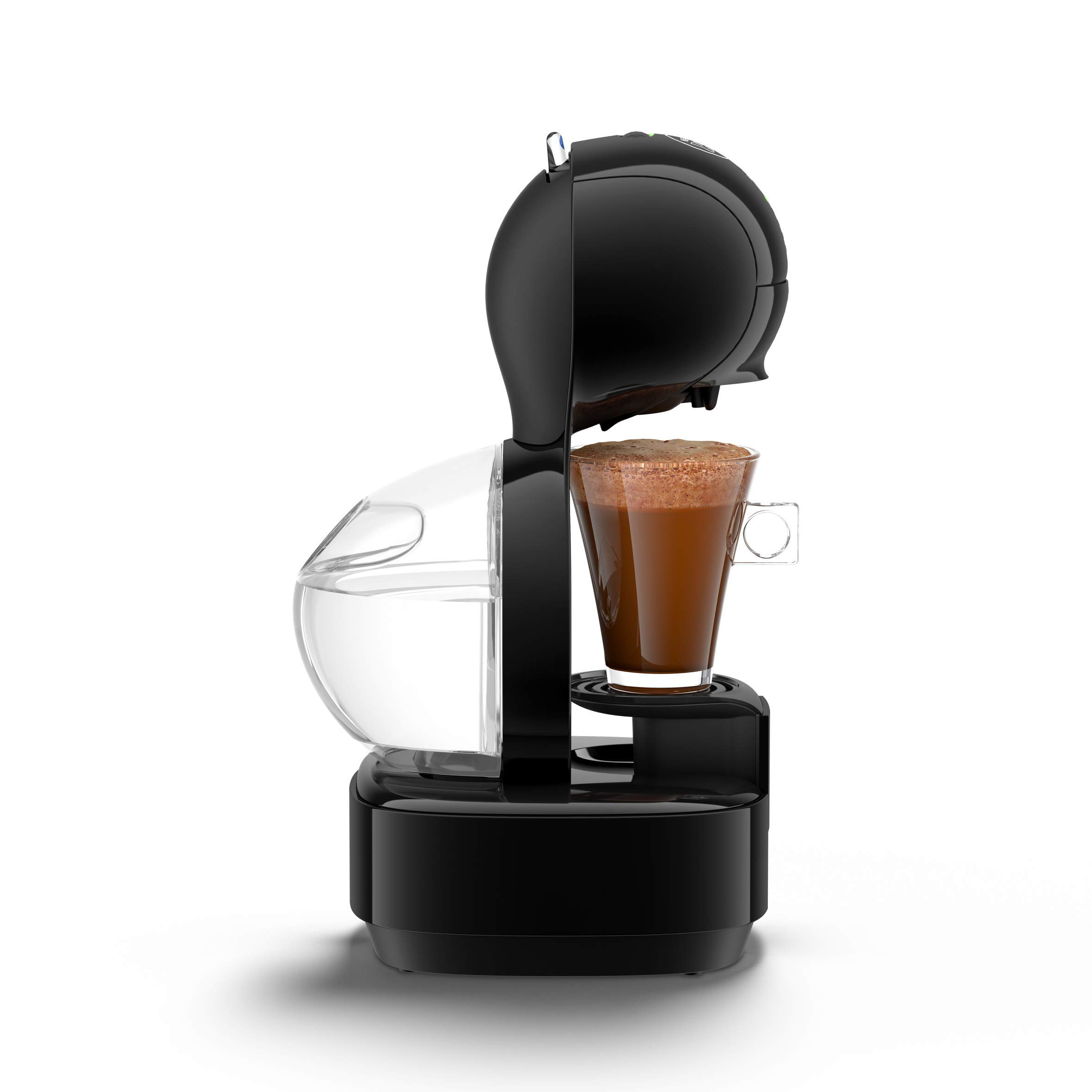 Krups Dolce Gusto Lumio KP130810, 15 Bares de presión - Cafetera de cápsulas, café de calidad profesional. Color Negro (Reacondicionado): Amazon.es: Hogar