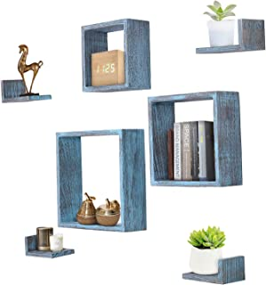 Best floating wall shelves square Reviews