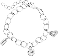 Cousin DIY Create Your Style Word Charms- Inspire Bracelet Combo, Made with Swarovski Crystal