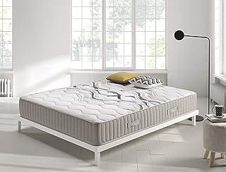 Living Sofa Colchón muelles 150x190 cm Visco Spring - Altura +/- 26 cm - Sistema de muelles ensacados - Espumación HR Viscosoft de Alta Densidad - Sistema Innovador Multicapa - Multizona de Confort