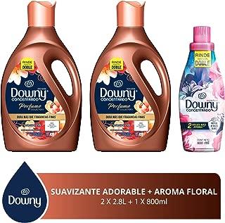 Downy Libre enjuague Suavizante de telas Adorable 5.6 L + Floral 800 ml