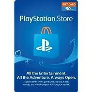 $50 PlayStation Store Gift Card... $50 PlayStation Store Gift Card [Digital Code]