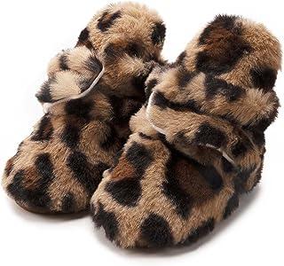 Newborn Winter Snow Booties Warm Fleece Shoes Baby Girl Boy Soft Anti-Slip Infant Crip Shoes (Baby Age : 0-6month (11CM), ...