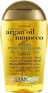 روغن بازسازی مو آرگان OGX برای موهای خشک و خشن حجم 92 میلیگرم
