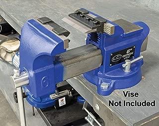 Eastwood 4 in. Vise Mount Press Metal Brake Bender Attachment Cross Slide On Workbench For Bend Sheet