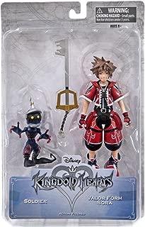 Kingdom Hearts Valor Form Sora Figure Diamond Select Exclusive