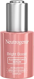 Neutrogena Bright Boost Illuminating Face Serum with Neoglucosamine & Turmeric Extract for Even Skin Tone, Resurfacing Ser...