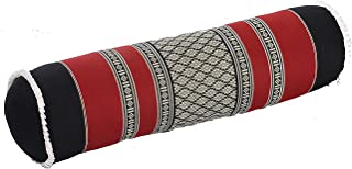 Bolster 枕头,* 天然鹿皮绒填充,49.53 厘米 x 13.97 厘米。 瑜伽道具或装饰性内饰设计。
