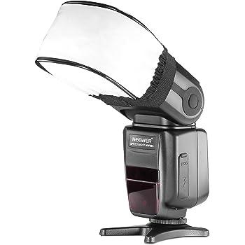 Neewer プロなユニバーサルソフトミニディフューザー Canon、Nikonフラッシュなどに対応