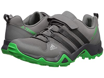 adidas Outdoor Kids Terrex AX2R CF K (Little Kid/Big Kid) (Grey Four/Active Green) Boys Shoes