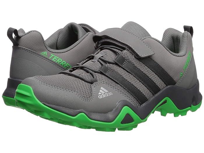 adidas Outdoor Kids  Terrex AX2R CF K (Little Kid/Big Kid) (Grey Four/Active Green) Boys Shoes