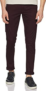 Arrow Sports Men's Straight Fit Casual Trousers