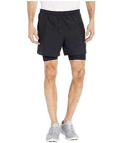Nike Challenger Shorts 5 2-in-1 (Black/Black/Reflective Silver) Men