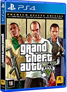 Grand Theft Auto V - Premium Online Edition - Playstation 4