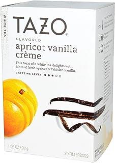 Tazo Teas, Apricot Vanilla Crème Flavored, White Tea, 20 Filterbags, 1.06 oz (30 g) - 2pc
