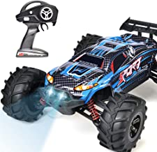 INGQU RC Truck, 50km/h High Speed Remote Control Truck IP68 Waterproof 1:12 Scale 4WD Off Road Hobby RC Cars 2.4GHZ Monste...