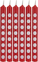 Creative Converting Cake Candle, 2.25-Inch Size, Classic Red