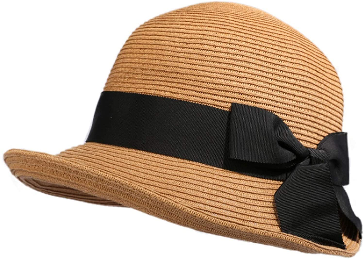7bde45990977ef Summer Ladies Straw Hat Outdoor Travel Visor Korean Version of The Roll  Board Duck Tongue Sun