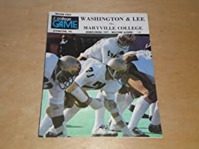 1977 MARYVILLE COLLEGE (TN) AT WASHINGTON LEE (VA) COLLEGE FOOTBALL PROGRAM