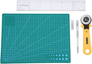 Kit de herramientas , Akozon 5Pcs / Set Kit de herramientas de artesanía para herramientas de corte de cuero de tela de papel
