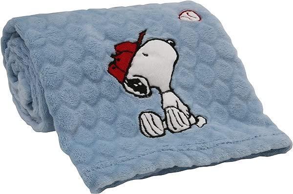 睡前原创史努比运动毛毯