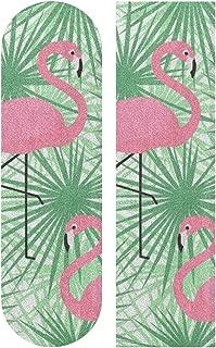 OuLian Tiger Background 33 x 9 inch Skateboard Grip Tape Sheet Bubble Free Skateboard Longboard Griptape Sand Paper Non-Slip