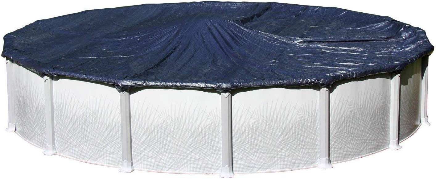 Winter Cover for 24-Foot Selling Round Swimming Above Tot Max 58% OFF Ground Pools