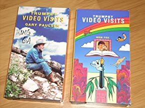 Set of (2) Celebrated Author visit Classics for your Children or Classroom - Trumpet Video Visits GARY PAULSEN (1993) + Trumpet Video Visits MEM FOX (1992)