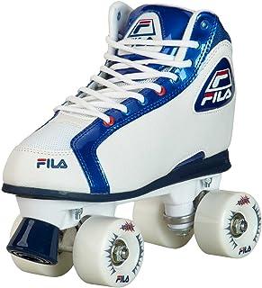 Patins Quad Fila Skates Smash Branco/Azul