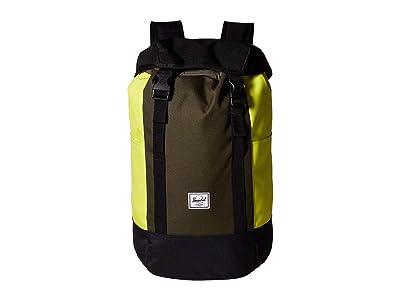 Herschel Supply Co. Iona (Black/Forest Night/Evening Primrose) Backpack Bags