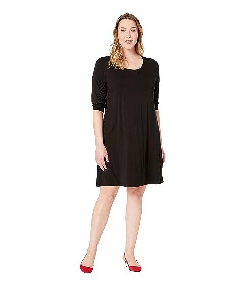 4530dfce496 Karen Kane Plus Plus Size 3 4 Sleeve T-Shirt Dress at Zappos.com