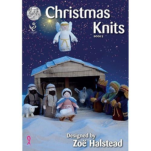 King Cole Christmas Knits 3 Knitting Pattern Book