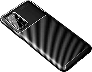 Soosos Case for Huawei Honor 30S Case Carbon Fiber Ultra thin TPU Soft Silicone Shockproof Anti-fall Cell phone Protective...